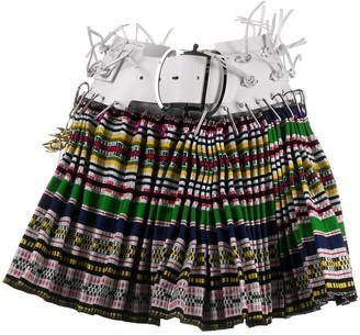 Chopova Lowena Check Mini Skirt