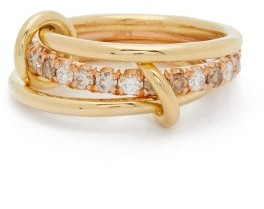 Spinelli Kilcollin Sonny Mx Diamond & 18kt Gold Ring - Gold