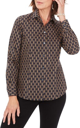 Foxcroft Dianna Button-Up Shirt