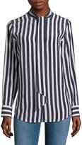 AG Adriano Goldschmied Women's Arley Stripe Shirt