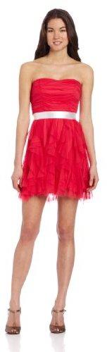 Teeze Me Juniors Strapless Petal Dress