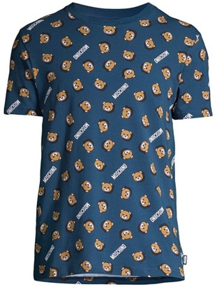 Moschino Allover Bear T-Shirt