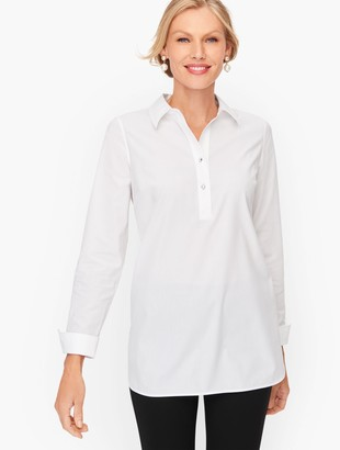 Talbots Perfect Popover - Solid