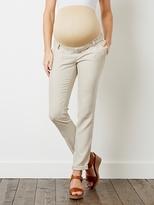 """Vertbaudet Maternity Linen Trousers, Inside Leg 31"""""""