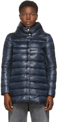 Herno Navy Down Amelia Coat