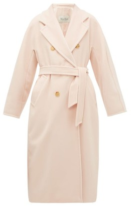 Max Mara Madame Coat - Womens - Light Pink