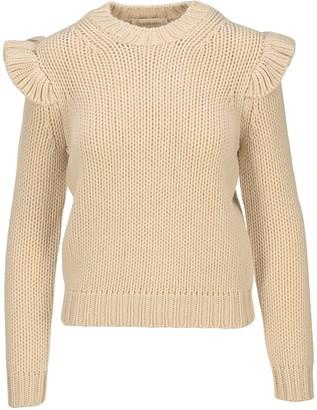 Zimmermann Ladybeetle Frill Sweater