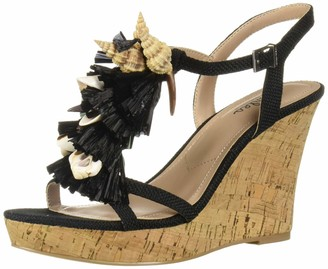 Charles by Charles David Women's La Jolla Wedge Sandal Black 8 M US