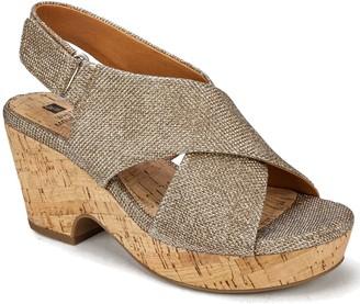 White Mountain Adjustable Wedge Sandals - Covington