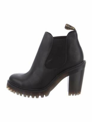 Dr. Martens Leather Chelsea Boots Black