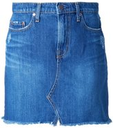 Nobody Denim - Piper Skirt Worn In - women - Cotton - 25