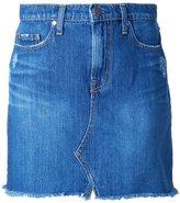 Nobody Denim Piper Skirt Worn In