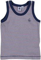 Petit Bateau S/L Shirt (Baby) - Stripes-4 Years
