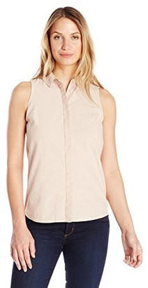 Olive + Oak Olive & Oak Women's Button Back Sleeveless Shirt