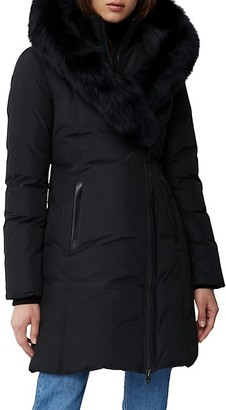 Mackage Kay Fox Fur Trim Parka