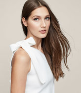 Reiss New Collection Henrieta One-Shoulder Knitted Top