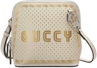 Gucci Logo And Stars Print Shoulder Bag