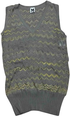 M Missoni Grey Cotton Top for Women