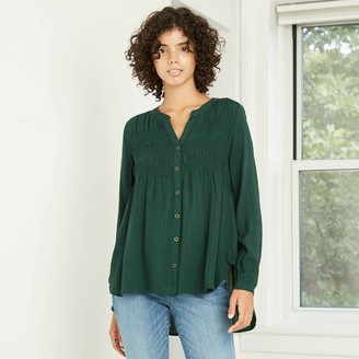 Knox Rose™ Women's Long Sleeve Button-Down Shirt - Knox RoseTM