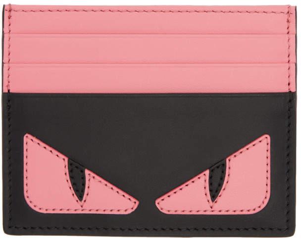 da1e1dbf02 Pink and Black Bag Bugs Card Holder