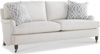 "Imagine Home Bradley Cotton 83"" Recessed Arm Sofa"