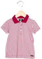 Dolce & Gabbana Boys' Gingham Collared Shirt