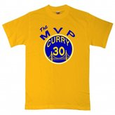 "KING THREADS Steph Curry Golden State Warriors ""The MVP"" T-Shirt"