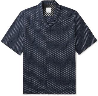 Paul Smith Camp-Collar Polka-Dot Cotton Shirt
