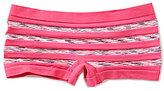 GB Girls Seamless Stripe Boy Shorts