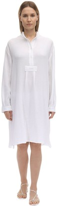 Long Cotton Gauze Pajama Shirt
