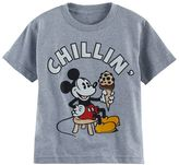 "Disney Disney's Mickey Mouse Boys 4-7 ""Chillin"" Graphic Tee"