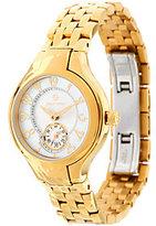 Philip Stein Teslar Goldtone Steel Bracelet Classic Round Mini Watch