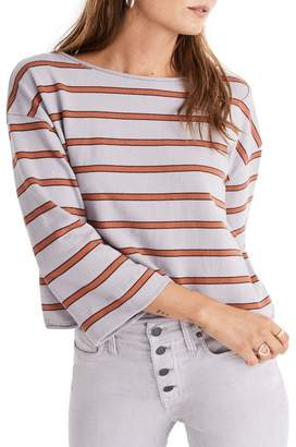 Madewell Stripe Boatneck T-Shirt