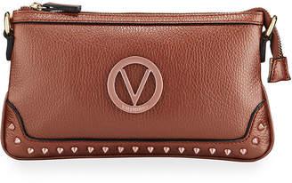 Mario Valentino Valentino By Abigail Studded Leather Crossbody Bag
