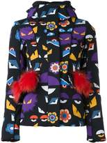 Fendi Wonders hooded jacket