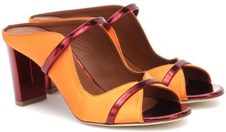 Malone Souliers Norah 70 satin mules