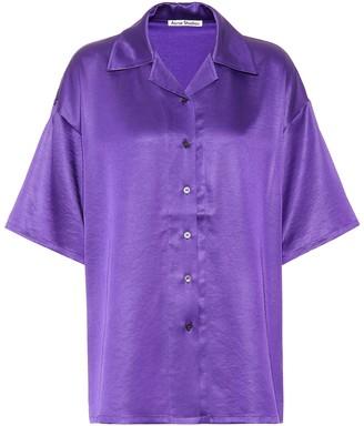Acne Studios Satin shirt