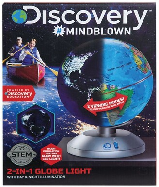 Discovery Channel 2-in-1 Globe Light