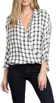 RVCA Commander Crossover Plaid Top