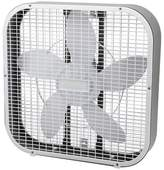 "Holmes 20"" 3-Speed Box Fan - White"