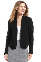 Amy Byer Jacket, Shawl-Collar Tuxedo Blazer