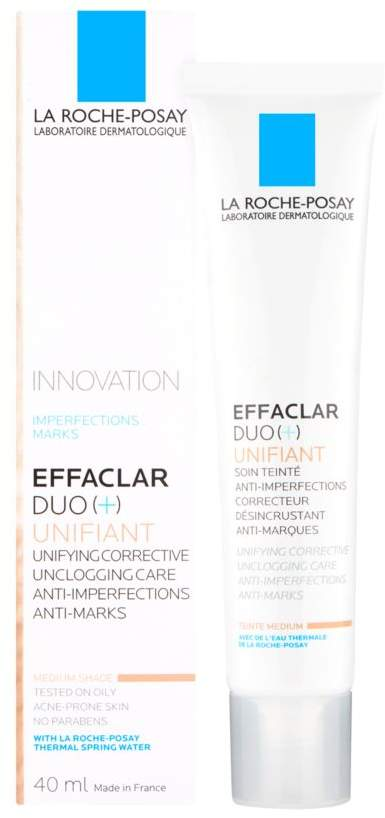 La Roche-Posay Effaclar Duo+ Unifiant Tinted Moisturiser Medium 40ml