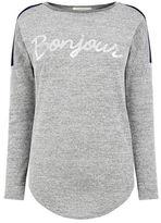 "Oasis Bonjour Sweater [span class=""variation_color_heading""]- Multi Blue[/span]"