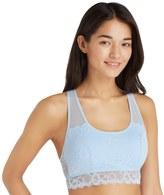 SO Juniors' SO® Bras: Floral Lace Racerback Bralette
