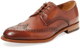 Antonio Maurizi Men's Leather Wingtip Derby