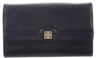 Givenchy Leather Flap Clutch