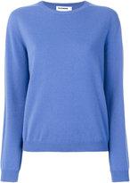 Jil Sander long sleeved knitted top