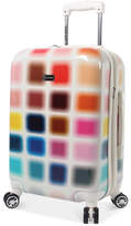 "Steve Madden Cubic 20"" Expandable Carry-On Hardside Suitcase"