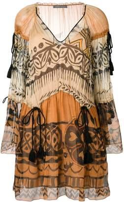 Alberta Ferretti Printed Dress