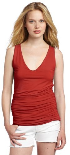 Three Dots Women's Double Layer Tank Top
